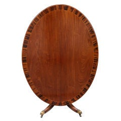 English Regency Oval Table