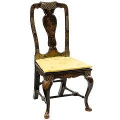 Venetian Chinoiserie Side Chair
