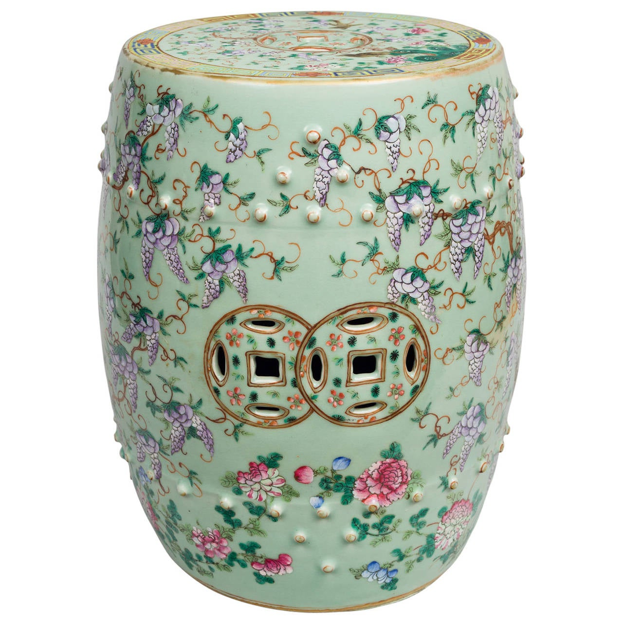 Chinese Porcelain Garden Seat At 1stdibs
