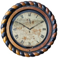 Irish Dial Wall Clock