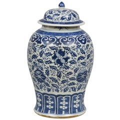 Chinese Export Porcelain Covered Vase