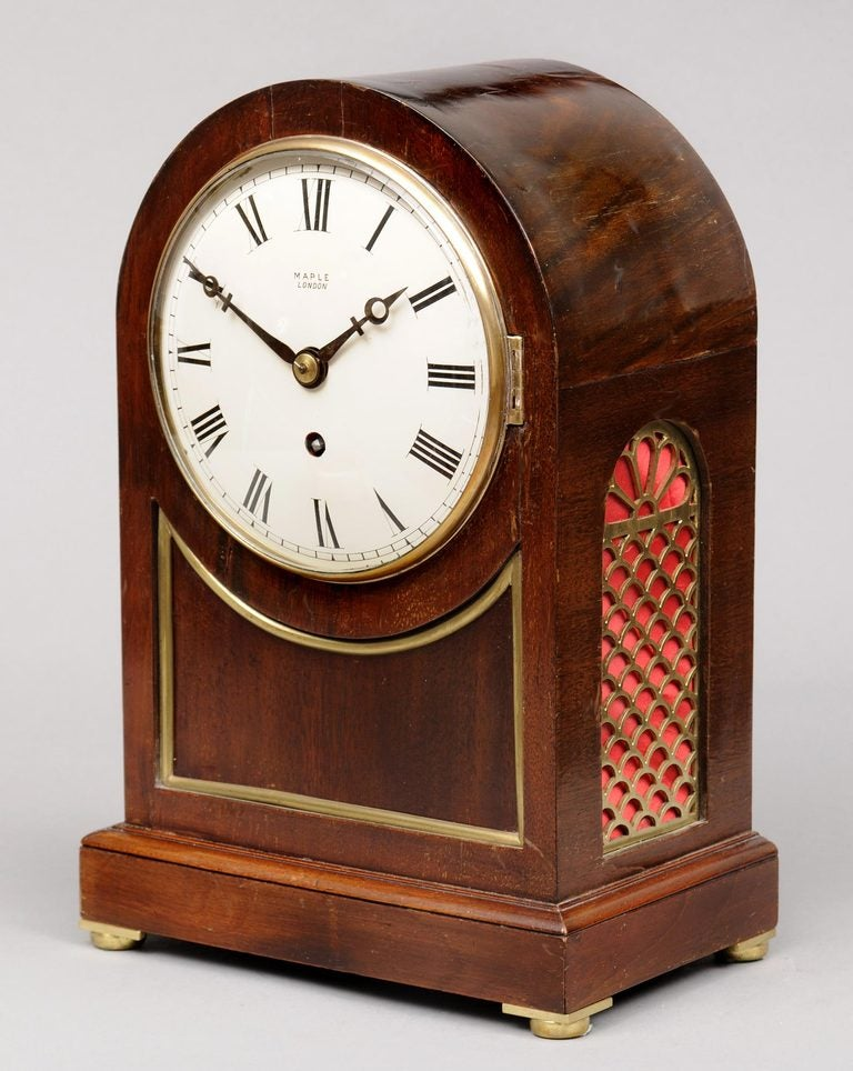 English Bracket Clock 3