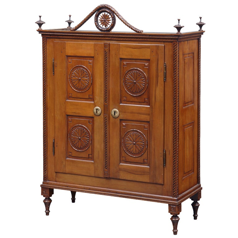 French miniature armoire at 1stdibs for Change furniture color