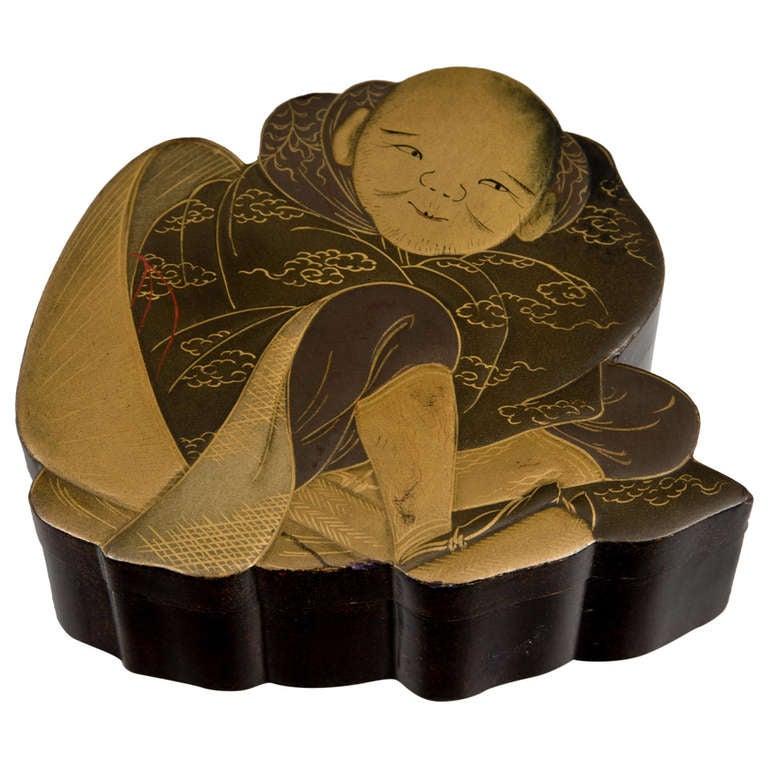 Japanese Lacquer Box circa 1880