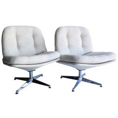 Pair of Lounge Chairs by Founders
