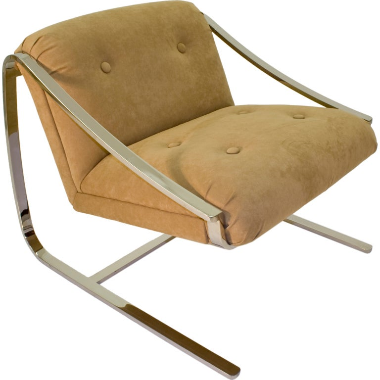 Brueton Plaza Lounge Chair at 1stdibs