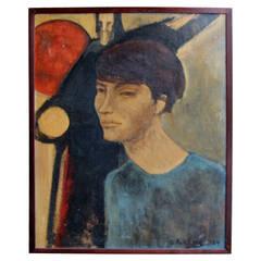 Signed 1964 Portrait