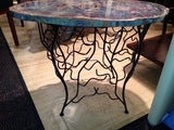 Arizona Petrified Wood Table With Artisan Made Base image 5