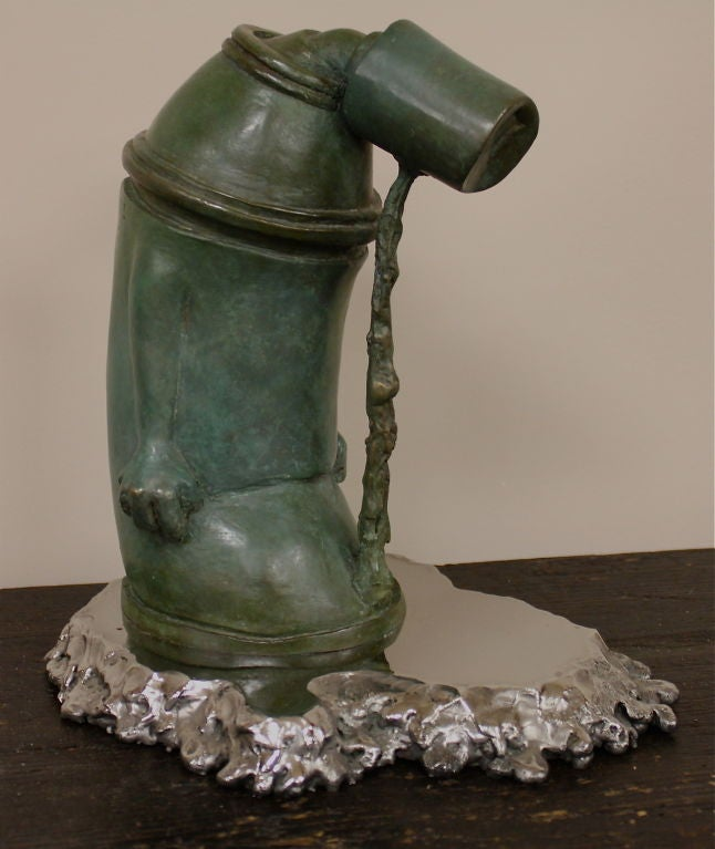 """Ashamed of Myself"" a New Bronze Sculpture by Ivan Palmer 2"