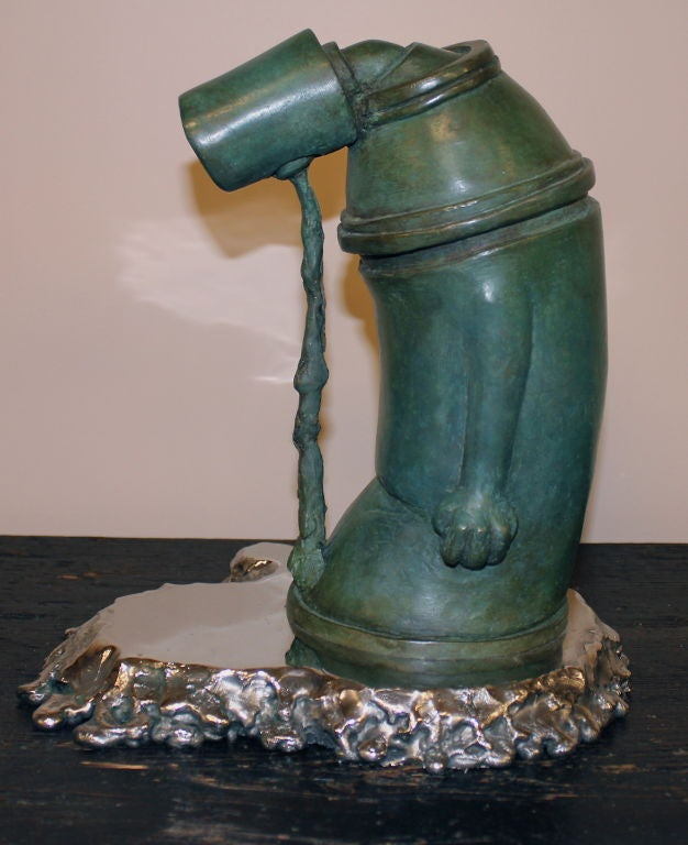 """Ashamed of Myself"" a New Bronze Sculpture by Ivan Palmer 4"
