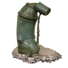 """Ashamed of Myself"" a New Bronze Sculpture by Ivan Palmer"