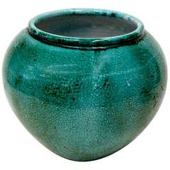 Large Primavera Crackle Glazed Vase