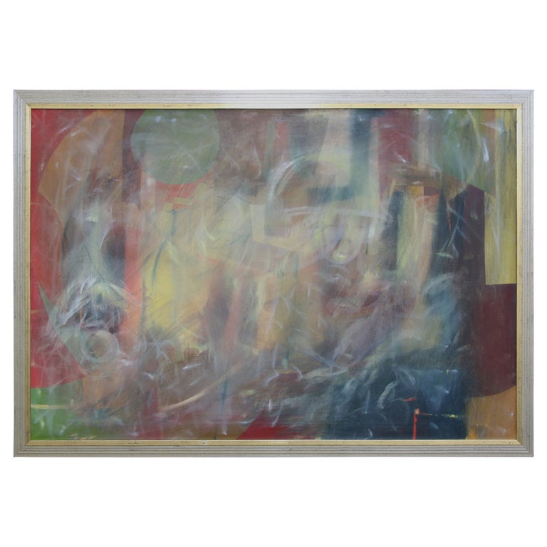 Abstract on Canvas in New Frame For Sale