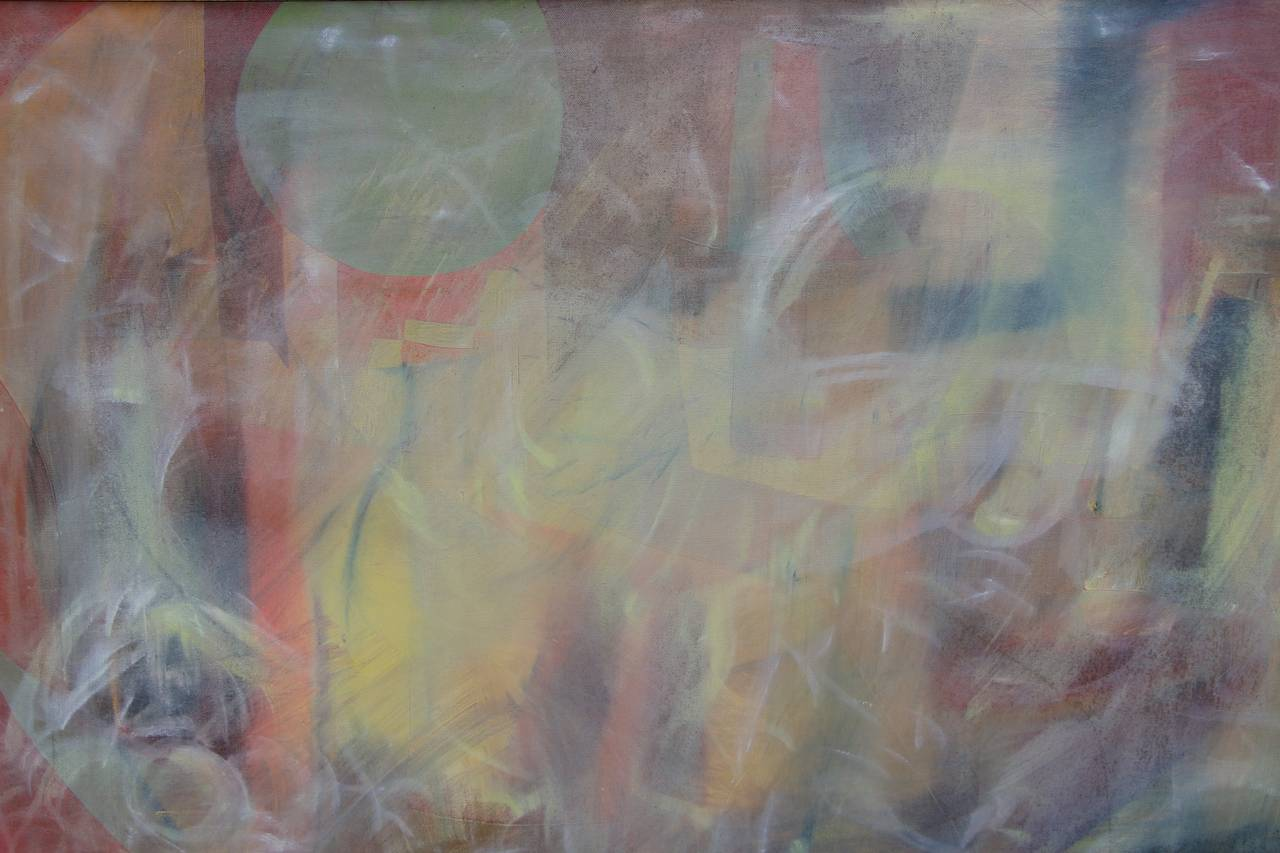 Abstract on Canvas in New Frame For Sale 1