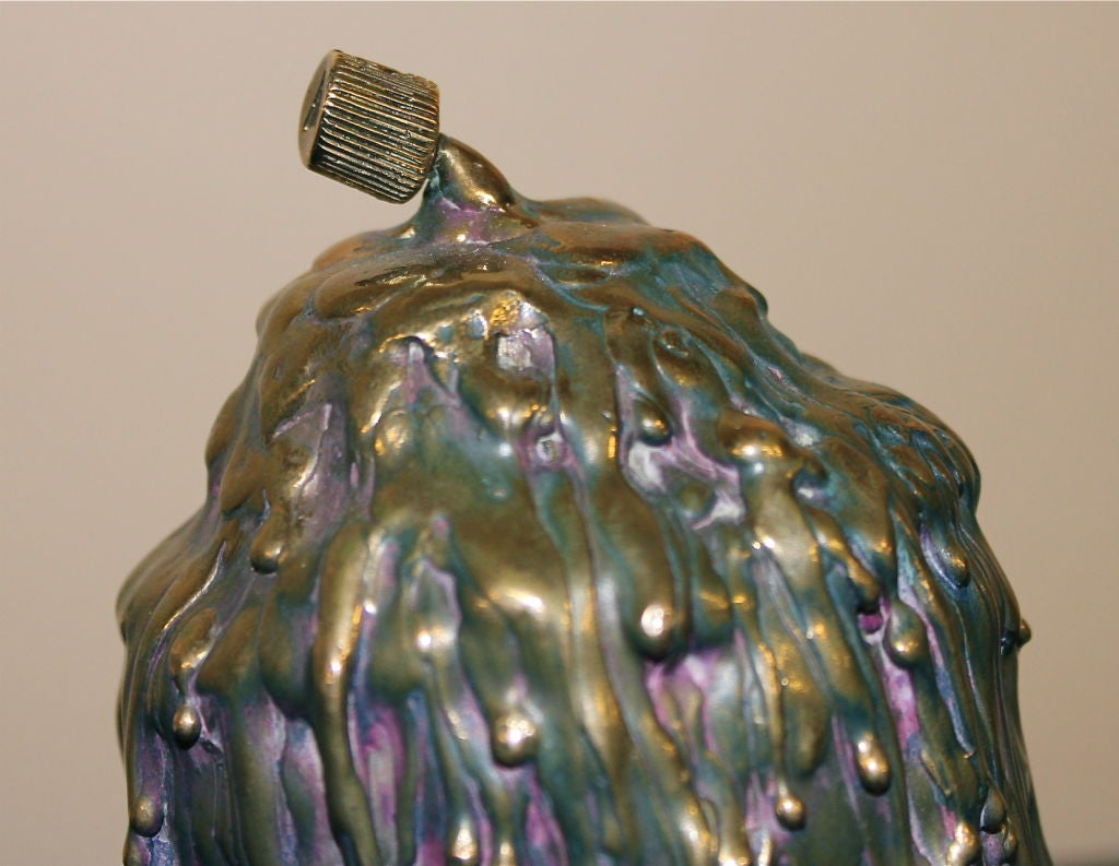 "American Beautifully Patinated and Detailed Bronze Ivan Palmer ""No Voice"" For Sale"