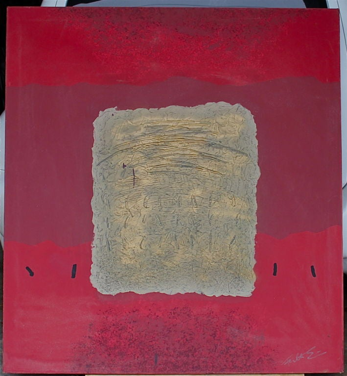 Great Large Abstract Illegibly Signed 2