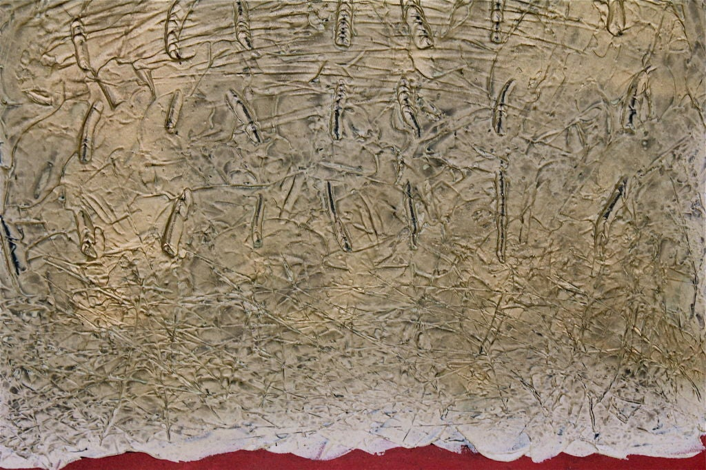 Great Large Abstract Illegibly Signed 5