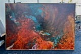Large abstract by Gloria Rosenthal titled Solar Wind image 2