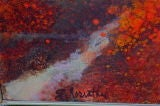Large abstract by Gloria Rosenthal titled Solar Wind image 7