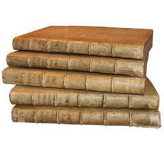 Rare 1624 vellum covered Ecclesiastical Annals by Cesare Baronio