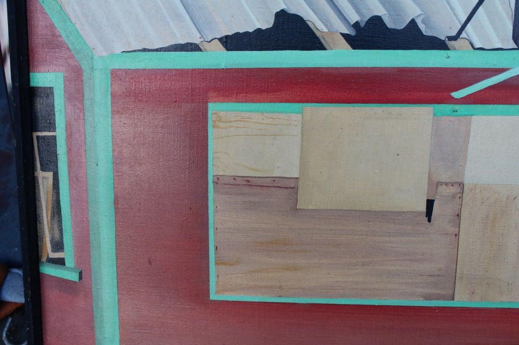 American Oil on canvas Bea Kettlewood NJ artist For Sale
