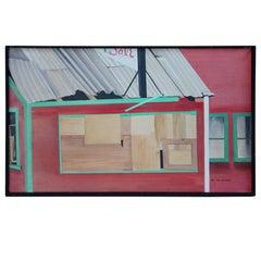 Oil on canvas Bea Kettlewood NJ artist