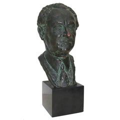 Bronze Bust By Serge Yourievitch