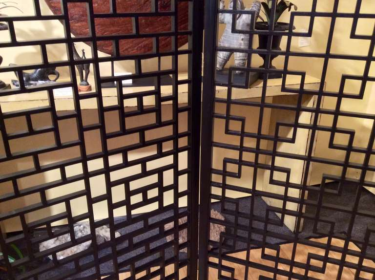Asian Wood Screen 66