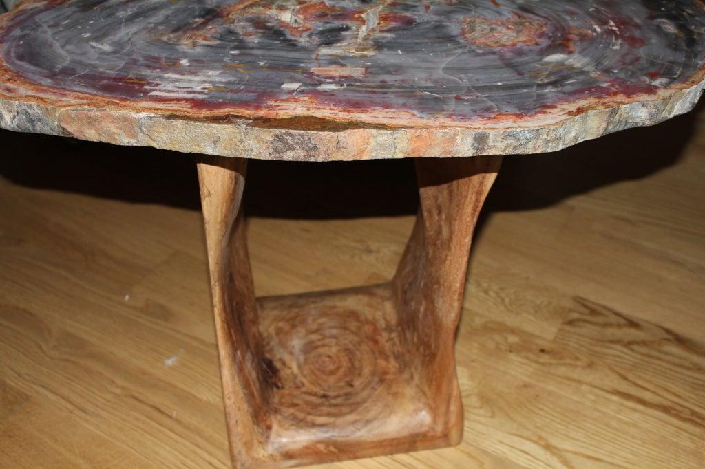 Arizona petrified wood table at 1stdibs