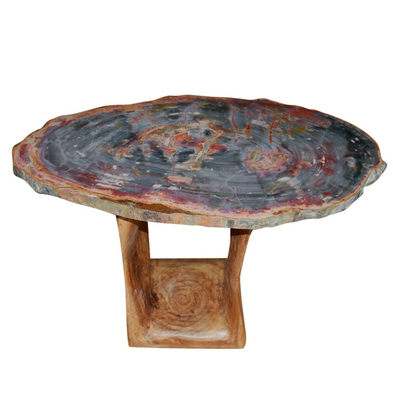 arizona petrified wood table at 1stdibs