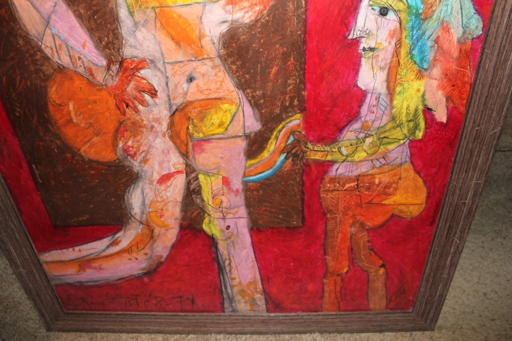 Norman Laliberte Paintings For Sale