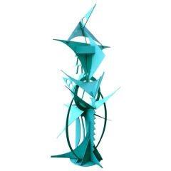 Monumental Waylande Gregory Iron Bird Sculpture