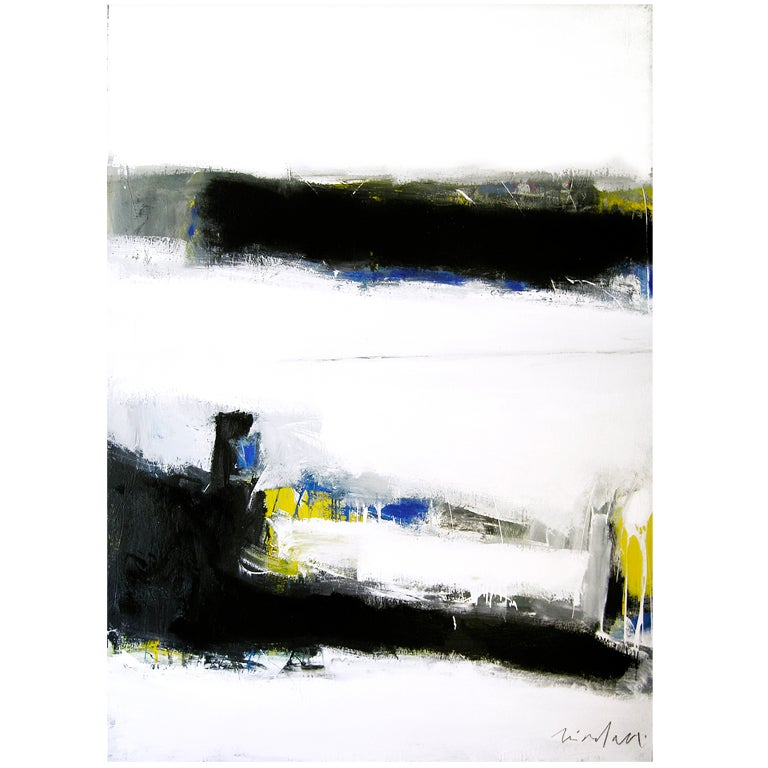 """Victor Mirabelli Abstract Titled """"The Crossing"""" For Sale"""