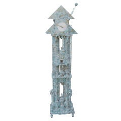1993 Richard Birkett Tall Case Clock
