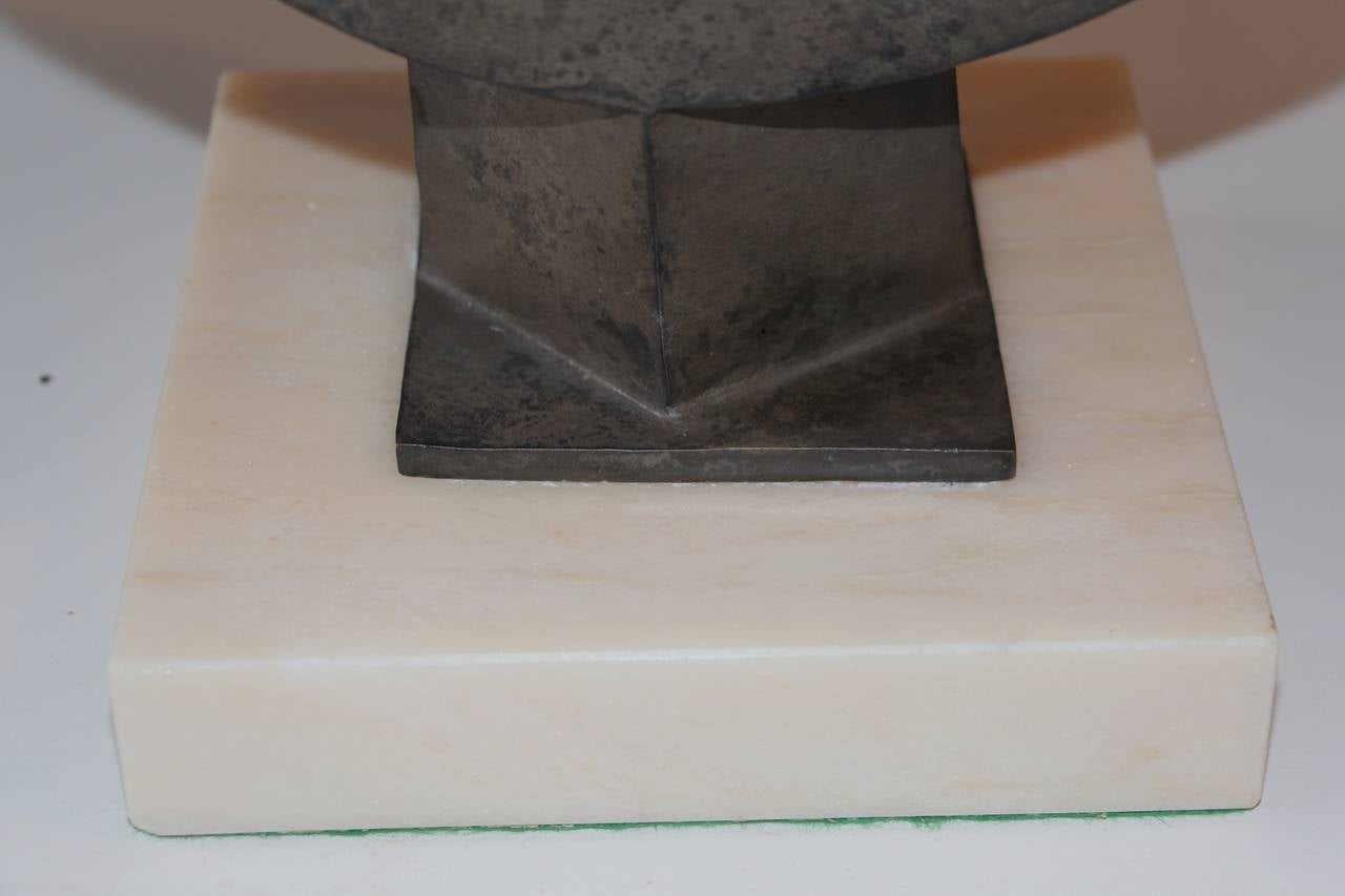 American Nicely Patinated Bronze Sculpture by Noted Artist Fred Schumm For Sale