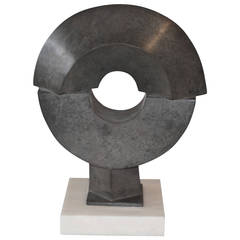 Nicely Patinated Bronze Sculpture by Noted Artist Fred Schumm