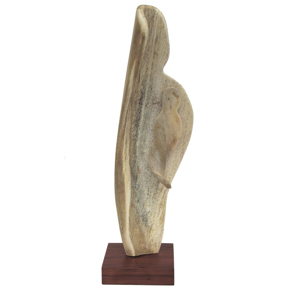 Alex Taller Abstract Bone Sculpture