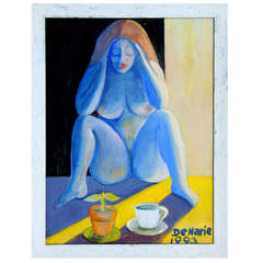 1993 Don Denarie blue lady