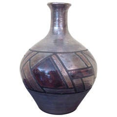 Paul Gerhold Raku Glaze Pottery