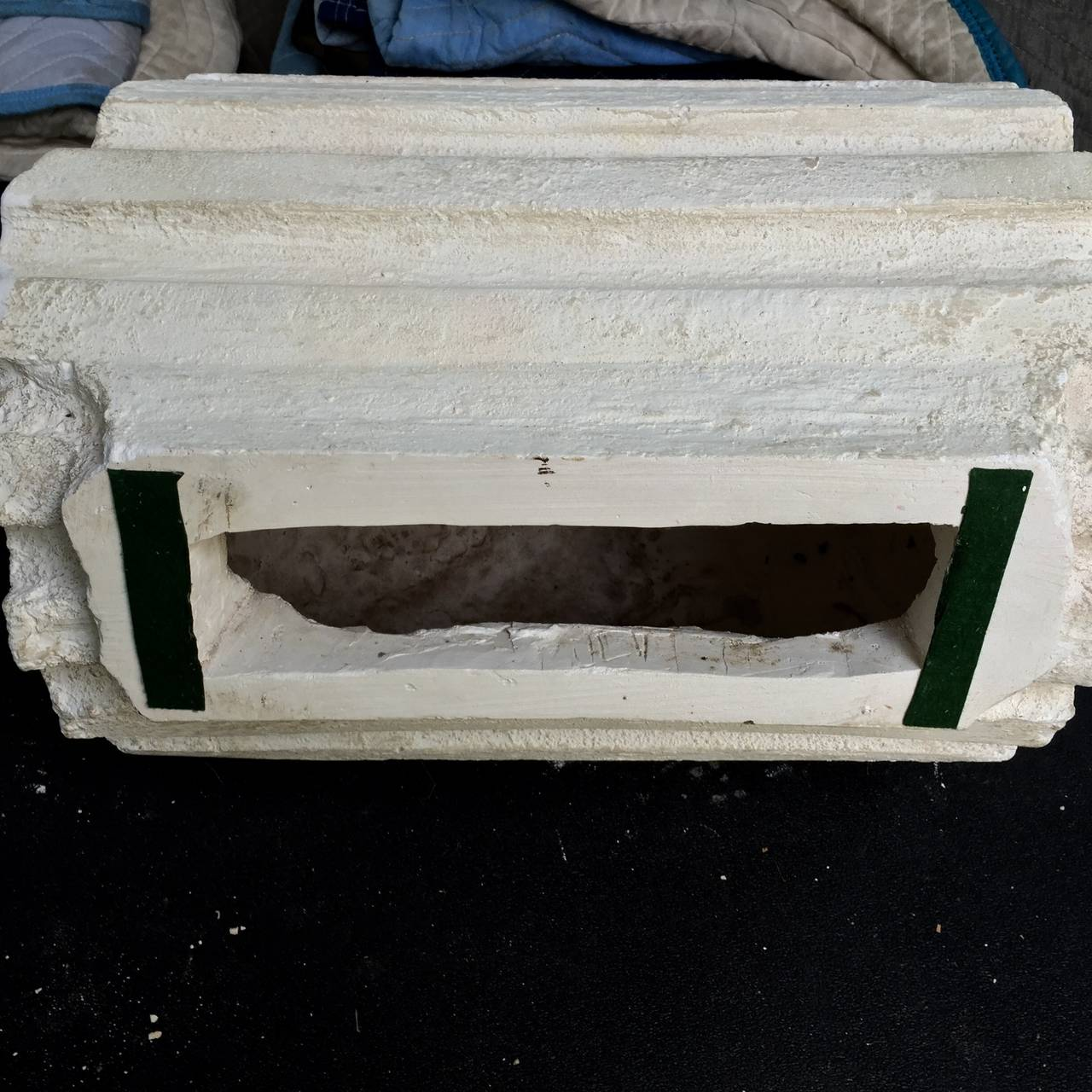 Coffee Table Leg Broken: Broken Column Coffee Table At 1stdibs