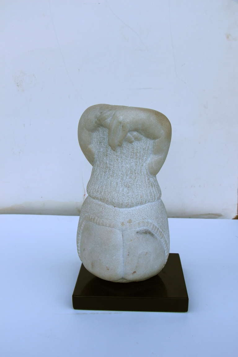 Stone carving monogrammed dated for sale at stdibs
