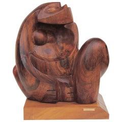 Ulises Jimenez Obregon Cubist Sculpture Monkey