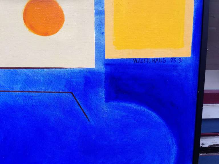 American Large Doris Vlasik Hails Abstract For Sale