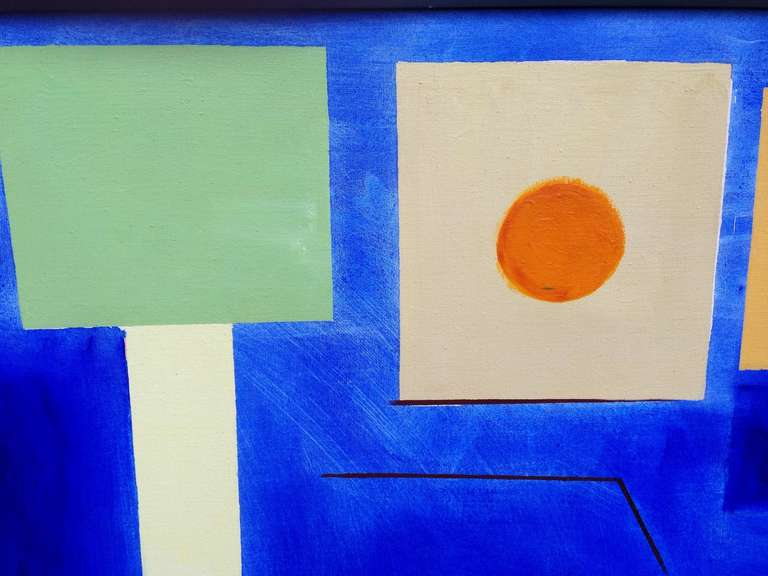Large Doris Vlasik Hails Abstract In Good Condition For Sale In Palm Springs, CA