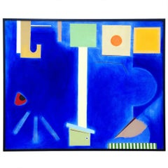 Large Doris Vlasik Hails Abstract