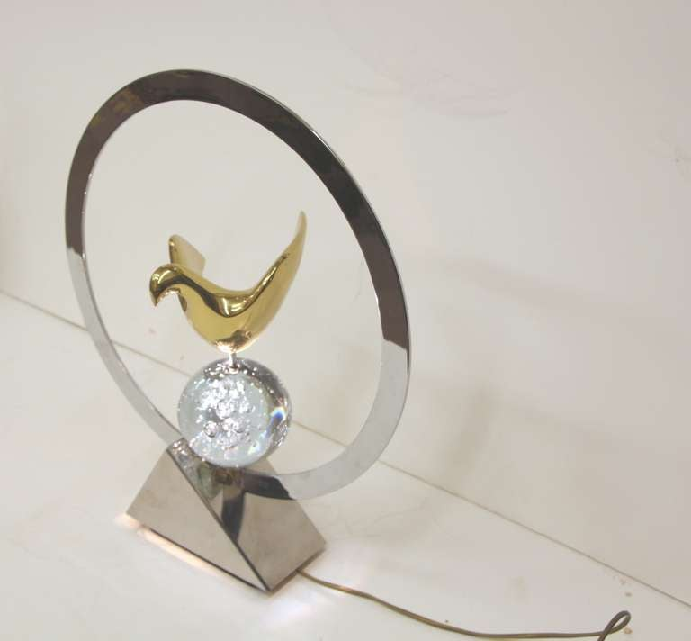 French Philippe Jean Lamp For Sale