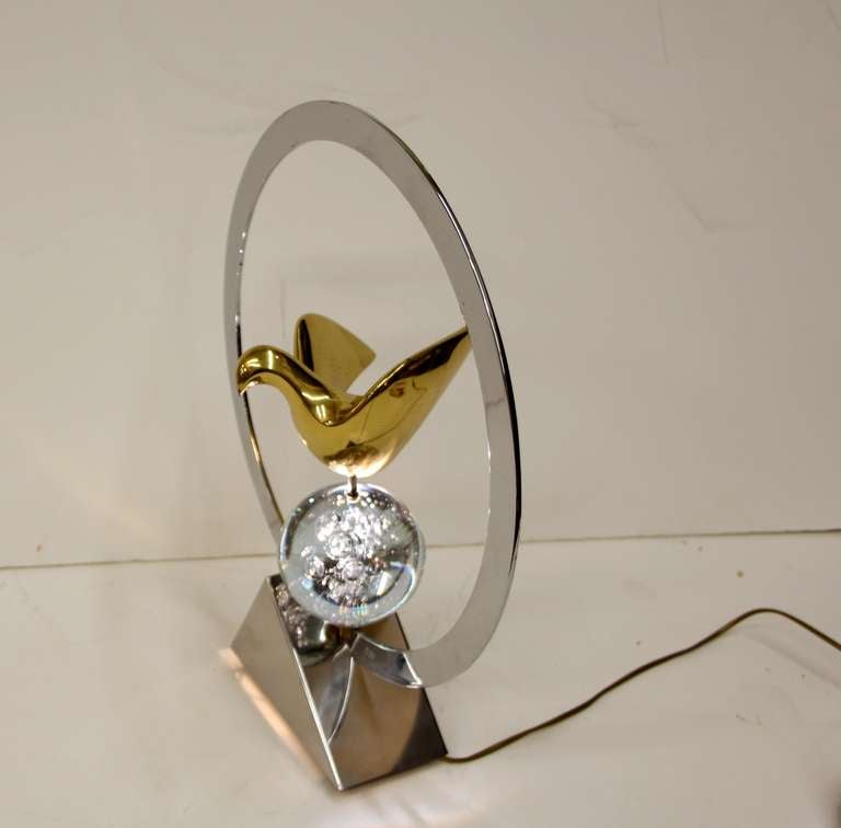 Late 20th Century Philippe Jean Lamp For Sale