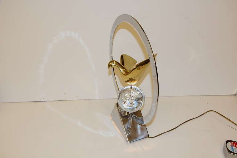 Metal Philippe Jean Lamp For Sale