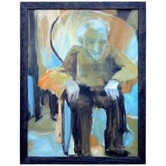 "Barbara Monchek ""One who has seen"" 1964"