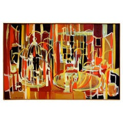 Arnold Weber, 1970, Abstract Painting